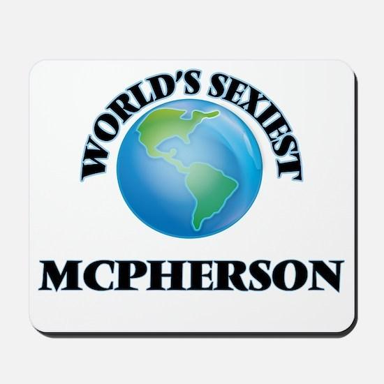 World's Sexiest Mcpherson Mousepad