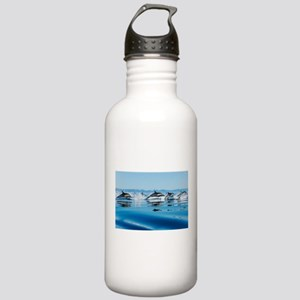 Leaping Dolphin Pod Stainless Water Bottle 1.0L