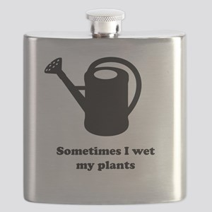 Sometimes I wet my plants Flask