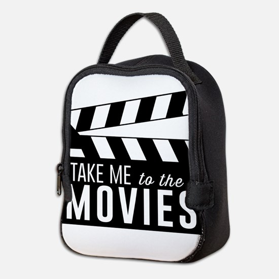 Take me to the movies Neoprene Lunch Bag