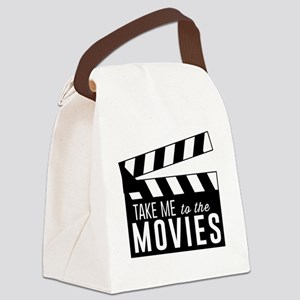 Take me to the movies Canvas Lunch Bag