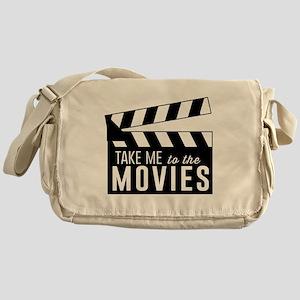 Take me to the movies Messenger Bag