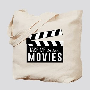 Take me to the movies Tote Bag