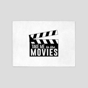 Take me to the movies 5'x7'Area Rug