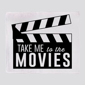 Take me to the movies Throw Blanket