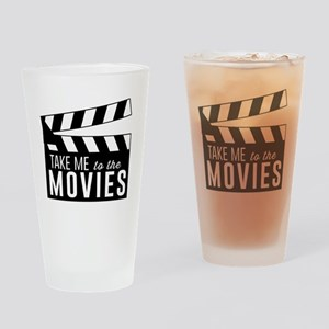 Take me to the movies Drinking Glass