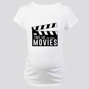 Take me to the movies Maternity T-Shirt