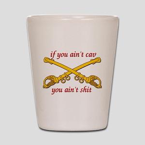 Cav Scout Shot Glass