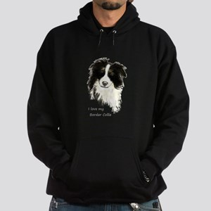 I love my Border Collie Pet Dog Hoodie
