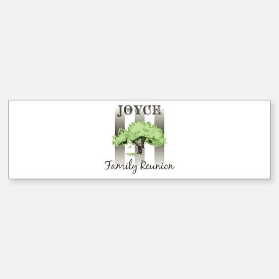 JOYCE family reunion (tree) Bumper Bumper Bumper Sticker