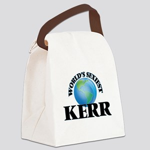 World's Sexiest Kerr Canvas Lunch Bag