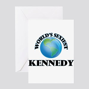 World's Sexiest Kennedy Greeting Cards