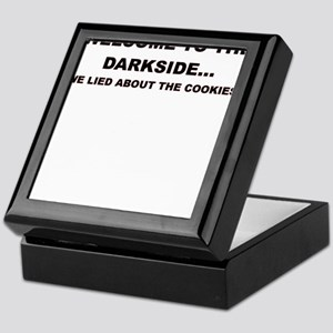 WELCOME TO THE DARKSIDE Keepsake Box