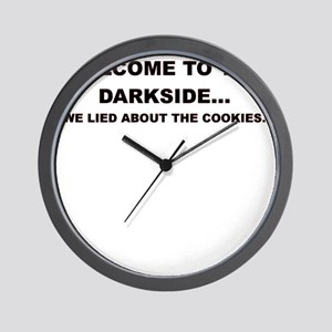 WELCOME TO THE DARKSIDE Wall Clock