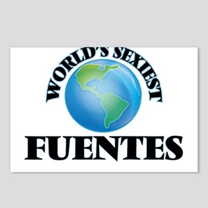 World's Sexiest Fuentes Postcards (Package of 8)