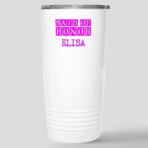 Maid Of Honor Personali Stainless Steel Travel Mug
