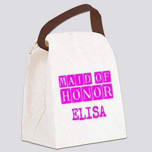 Maid Of Honor Personalized Canvas Lunch Bag