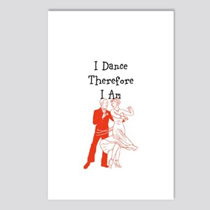 I Dance Therfore I Am Postcards (package Of 8)