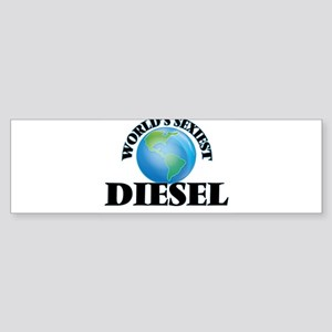 World's Sexiest Diesel Bumper Sticker