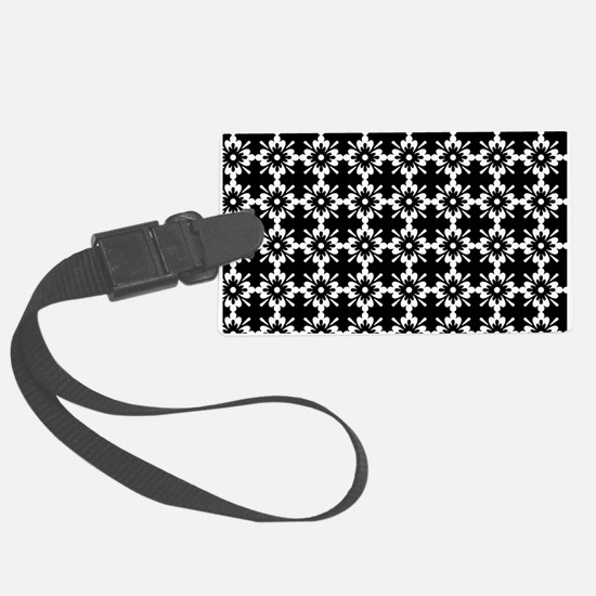 Abstract Graphic Tile Pattern Luggage Tag