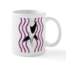 Sparkling Black Tulip Mug