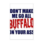 Buffalo Football Mini Poster Print