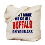 Buffalo Football Tote Bag