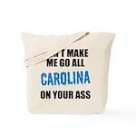 Carolina Football Tote Bag