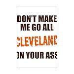 Cleveland Football Mini Poster Print