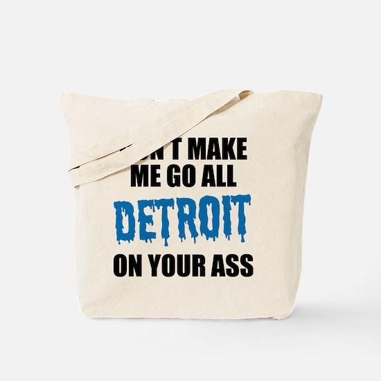 Detroit Football Tote Bag