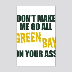 Green Bay Football Mini Poster Print