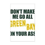 Green Bay Football Mini Poster Print