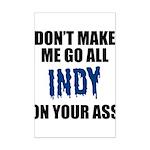 Indianapolis Football Mini Poster Print