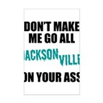Jacksonville Football Mini Poster Print