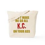 Kansas City Football Tote Bag