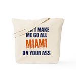 Miami Football Tote Bag