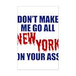 New York Football Mini Poster Print