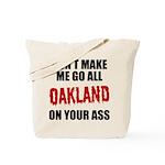Oakland Football Tote Bag