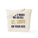 St. Louis Football Tote Bag