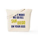 San Diego Football Tote Bag