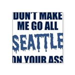Seattle Football Square Sticker 3