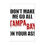 Tampa Bay Football Mini Poster Print