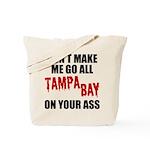 Tampa Bay Football Tote Bag