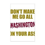 Washington Football Mini Poster Print