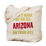 Arizona Baseball Tote Bag