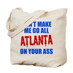 Atlanta Baseball Tote Bag