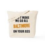 Baltimore Baseball Tote Bag