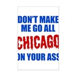 Chicago Baseball Mini Poster Print