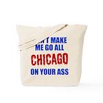 Chicago Baseball Tote Bag