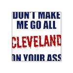 Cleveland Baseball Square Sticker 3